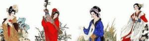 古代四大美女是怎么被世人铭记的?除了漂亮还有品质!